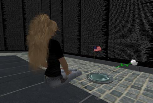 The Vietnam Memorial in Second Life